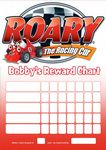 Personalised Roary the Racing Car Reward Chart (adding photo option available)